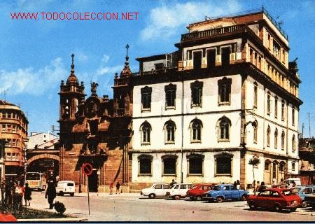 LUGO. CALLE Y PUERTA DE SAN FERNANDO E IGLESIA DE SAN FROILÁN (Postales - España - Galicia Moderna (desde 1940))