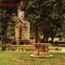 Postales: LUGO. PARQUE ROSALIA DE CASTRO. MONUMENTO AL ALCALDE LOPEZ PEREZ. Lote 2962252