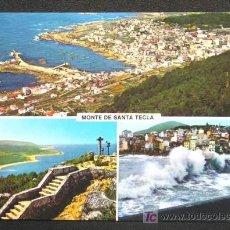 Postales: MONTE DE SANTA TECLA. LA GUARDIA // PONTEVEDRA.. Lote 9730071