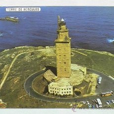 Postales: TORRE DE HÉRCULES. VISTA AÉREA. Lote 14988139