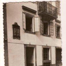 Postales: ANTIGUA POSTAL 86 SANTIAGO DE COMPOSTELA CASA DE LA TROYA ED.GARRABELLA. Lote 10006424