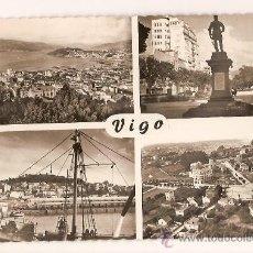 Postales: ANTIGUA POSTAL 503 VISTA PARCIAL,LA ALAMEDA,EL BERBES Y MONTE DEL CASTRO,PLZ ESPAÑA ED.LUJO. Lote 10006447