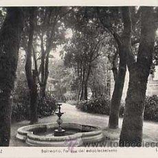 Postais: PONTEVEDRA. MONDARIZ. BALNEARIO, PARQUE DEL ESTABLECIMIENTO. L. ROISIN, FOT. CIRCULADA. Lote 11940653