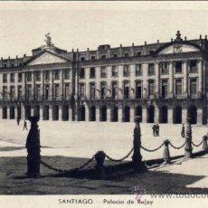 Postales: TARJETA POSTAL DE SANTIAGO DE COMPOSTELA - PALACIO DE RAJOY . Lote 24832895