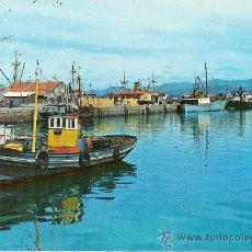 Postales: POSTAL A COLOR 3 VILLAGARCIA DE AROSA PONTEVEDRA PUERTO FOTO GARCIA GARRABELLA CIRCULADA 1969. Lote 10585509