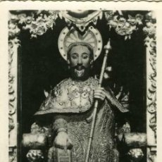 Postales: POSTAL SANTIAGO DE COMPOSTELA EFIGIE DEL APOSTOL. Lote 10909852