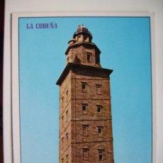 Postales: LA CORUÑA, TORRE DE HERCULES. Lote 11108810