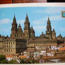 Postales: SANTIAGO DE COMPOSTELA, VISTA DESDE EL PASEO DE LA HERRADURA. Lote 11124227