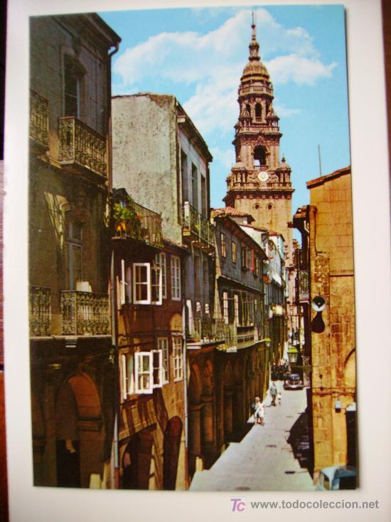 SANTIAGO DE COMPOSTELA, RUA DEL VILLAR (Postales - España - Galicia Moderna (desde 1940))