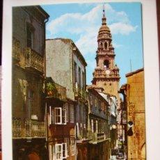 Postales: SANTIAGO DE COMPOSTELA, RUA DEL VILLAR. Lote 11124291