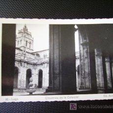 Postales: LUGO, CLAUSTROS DE LA CAEDRAL. Lote 27267565
