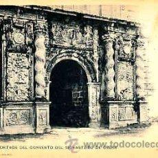 Postales: POSTAL DE ORENSE Nº 1076 PORTADA DEL CONVENTO DEL MONASTERIO DE OSERA. Lote 11160616