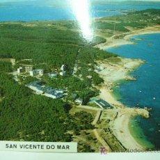 Postales: + SAN VICENTE DO MAR VISTA AEREA SIN USAR. Lote 11428269