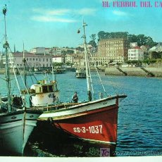 Postales: + EL FERROL AÑO 1972 USADA MUELLE CONCEPCION ARENAL. Lote 11428304