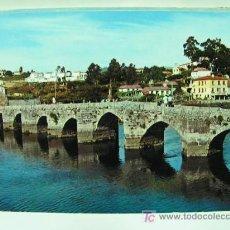 Postales: + LA RAMALLOSA HACIA 1970 PONTEVEDRA PUENTE ROMANO SIN USAR. Lote 11428319