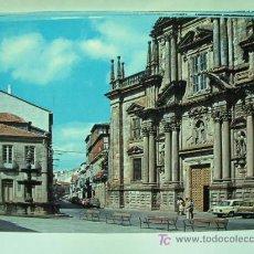 Postales: + CELANOVA HACIA 1970 CALLE EMILIA PARDO BAZAN SIN USAR. Lote 11428323