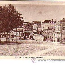 Postales: BETANZOS (CORUÑA).-PLAZA GARCIA HERMANOS. Lote 16392683