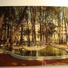 Postales: LA TOJA GALICIA, ISLA DE ENSUEÑO, ESTANQUE DE LOS CISNES. Lote 11609880