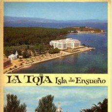 Postales: Nº 26 POSTAL GALICIA LA TOJA ISLA DE ENSUEÑO. Lote 11731643