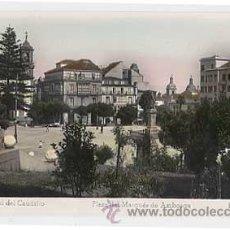 Postales: CORUÑA. FERROL DEL CAUDILLO. PLAZA DEL MARQUES DE AMBOAGE. ED ARRIBAS Nº 55. Lote 11944064