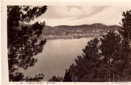 Nº 4115 POSTAL VIGO LA RIA BAYONA GALICIA (Postales - España - Galicia Moderna (desde 1940))