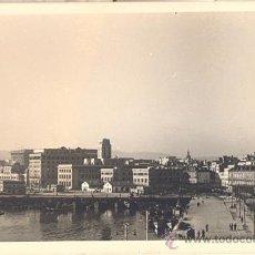 Postales: LA CORUÑA. PUERTO PESQUERO. POSTAL BLANCO Y NEGRO, C. 1960. C. Lote 21255748