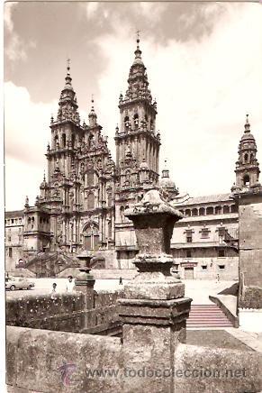 POSTAL SANTIAGO DE COMPOSTELA CATEDRAL (Postales - España - Galicia Moderna (desde 1940))