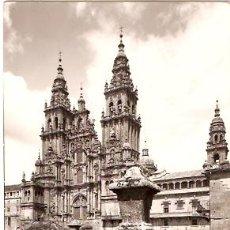 Postales: POSTAL SANTIAGO DE COMPOSTELA CATEDRAL. Lote 12241592