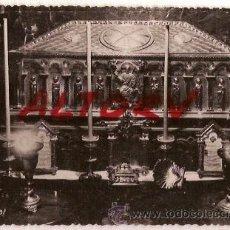 Postales: ANTIGUA POSTAL 45 SANTIAGO DE COMPOSTELA SEPULCRO SANTIAGO APOSTOL FOTO L ROISIN. Lote 12497515
