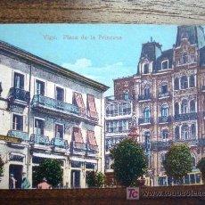 Postales: POSTAL ANTIGUA GALICIA VIGO. PLAZA DE LA PRINCESA. EDICIÓN J. BUCETA. . Lote 26809653