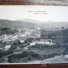 Postales: POSTAL ANTIGUA GALICIA VIGO. LA CAMPIÑA DESDE EL CASTILLO DE CASTRO. HAUSER&MENET. . Lote 26927728