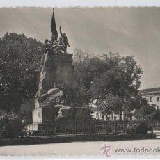 Postales: TARJETA POSTAL MONUMENTO A LOS HEROES DEL PUENTE SAN PAYO PONTEVEDRA. Lote 13399233