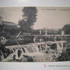 Postales: POSTAL PONTEVEDRA: LA TABLADA. Lote 13438849