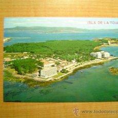 Postales: POSTAL ISLA DE LA TOJA VISTA AEREA SIN CIRCULAR. Lote 13473839