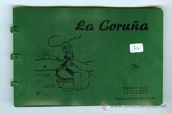 POSTAL LA CORUÑA BLOC 10 POSTALES (Postales - España - Galicia Moderna (desde 1940))