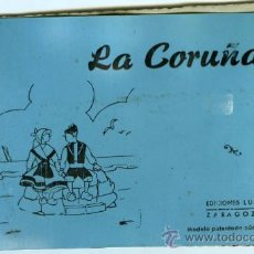 Postales: POSTAL LA CORUÑA BLOC 10 POSTALES. Lote 13555210