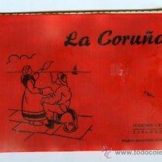 Postales: POSTAL LA CORUÑA BLOC 10 POSTALES. Lote 13555271