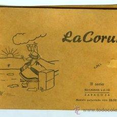 Postales: POSTAL LA CORUÑA BLOC 10 POSTALES. Lote 13555359