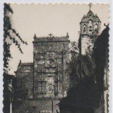 Postales: TARJETA POSTAL FACHADA DE LA IGLESIA DE SANTA MARIA PONTEVEDRA. Lote 13909400