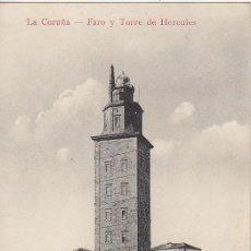 Postales: PS2062 LA CORUÑA 'FARO Y TORRE DE HÉRCULES',. EDICIÓN CORUÑA. SIN CIRCULAR. Lote 14271874