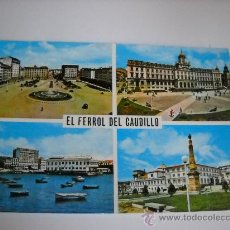 Postales: 175 - EL FERROL DEL CAUDILLO. EDI. PARIS. CIRCULADA EN 1965.. Lote 25868938