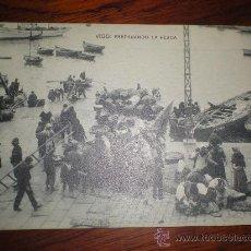 Postales: TARJETA POSTAL DE VIGO - PONTEVEDRA - EL MUELLE - FOTOTIPIA HAUSER. Lote 14850905