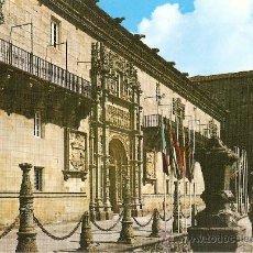 Postales: SANTIAGO DE COMPOSTELA.HOSTAL DE LOS REYES CATOLICOS. Lote 14892753