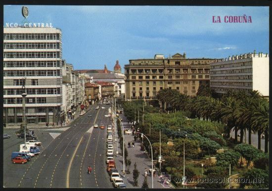 A-6730- LA CORUÑA. AVENIDA LOS CANTONES (Postales - España - Galicia Moderna (desde 1940))