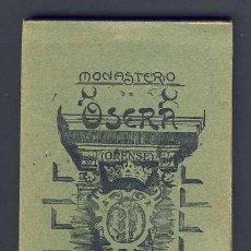 Postales: LIBRO CARNET CON 20 POSTALES DEL MONASTERIO DE OSERA (ORENSE) (SERIE 2) (VER FOTOS ADICIONALES). Lote 14974597