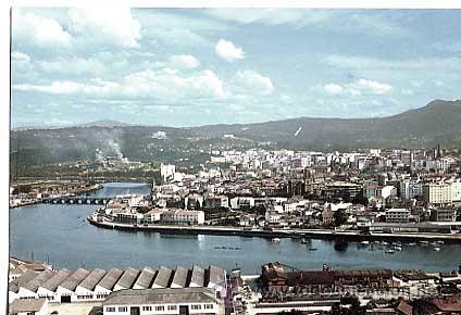 PONTEVEDRA. VISTA PARCIAL. ED. ARRIBAS Nº 85. SIN CIRCULAR (Postales - España - Galicia Moderna (desde 1940))