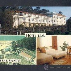 Postales: POSTAL DE VILLANUEVA DE AROSA (PONTEVEDRA): HOTEL RESTAURANTE LA SIRENA (ED.SALNES). Lote 15034614
