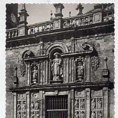 Postcards - CORUÑA. SANTIAGO DE COMPOSTELA. CATEDRAL, PUERTA SANTA. ED GARCIA GARRABELLA. SIN CIRCULAR - 15170592