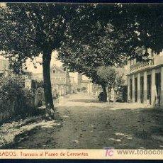 Postales: CAMBADOS - PONTEVEDRA : FOT. THOMAS Nº 6 - TRAVESIA AL PASEO DE CERVANTES. Lote 23814018