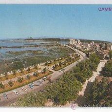 Postales: TARJETA POSTAL DE CAMBADOS JARDINES Y VISTA PARCIAL PONTEVEDRA. Lote 15452401